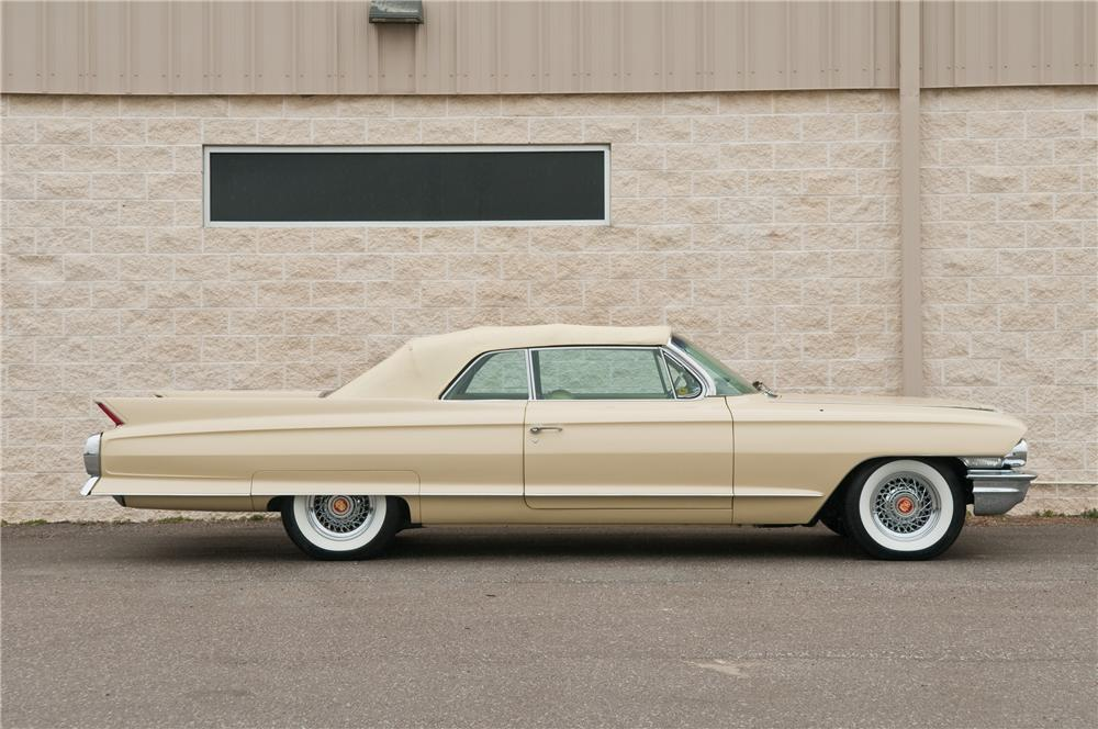 1962 CADILLAC SERIES 62 CONVERTIBLE - Side Profile - 125226