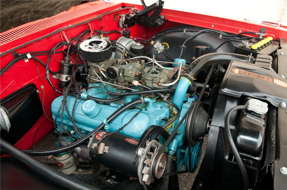 1962 PONTIAC BONNEVILLE CONVERTIBLE - Engine - 125229