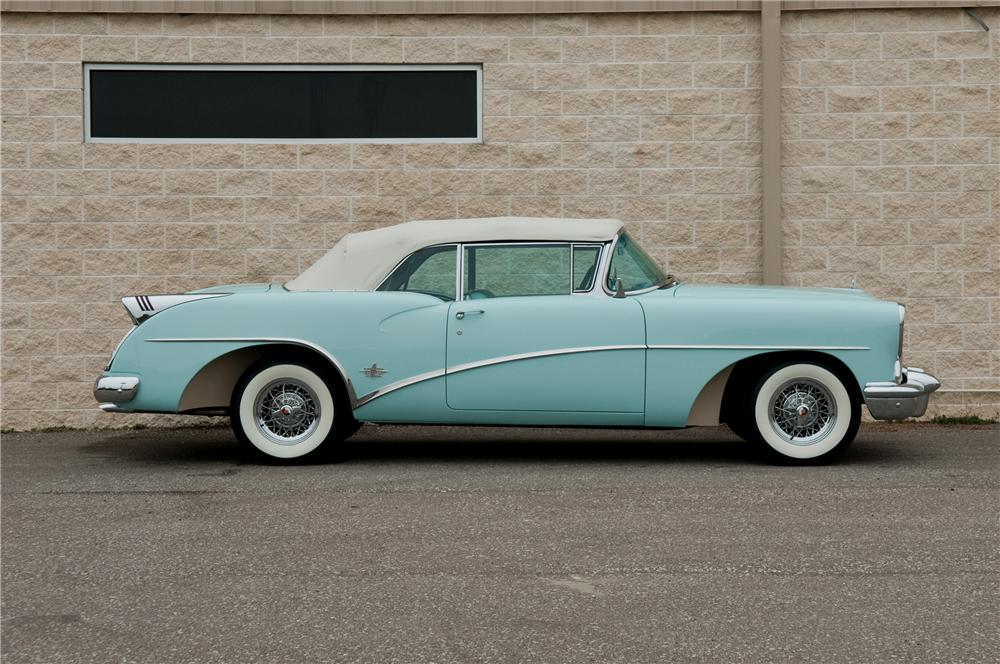 1954 BUICK SKYLARK CONVERTIBLE - Side Profile - 125232