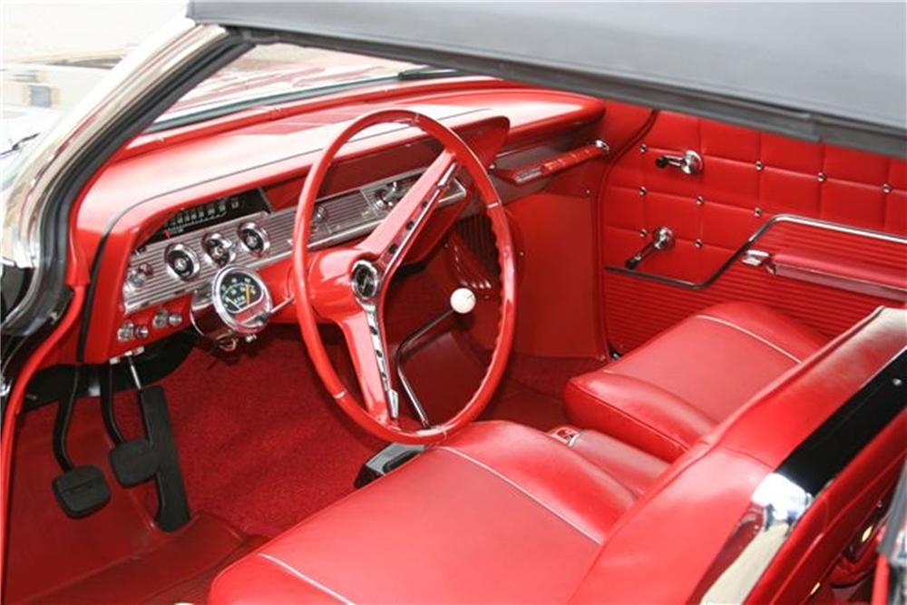 1962 CHEVROLET IMPALA SS CONVERTIBLE - Interior - 125241