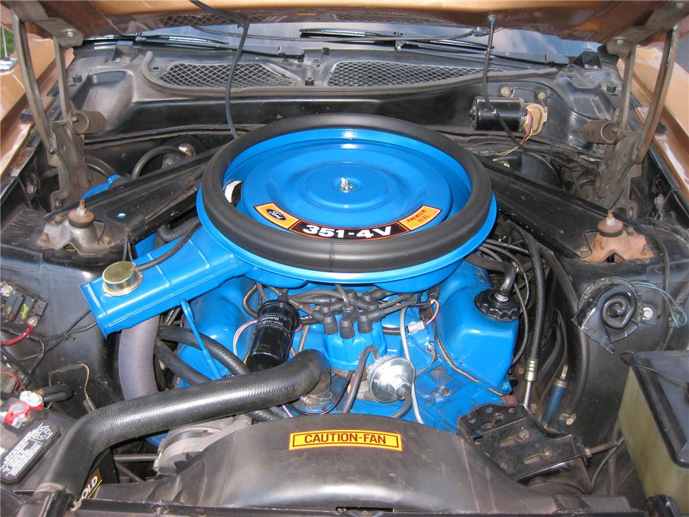 1973 FORD MUSTANG CONVERTIBLE - Engine - 125247