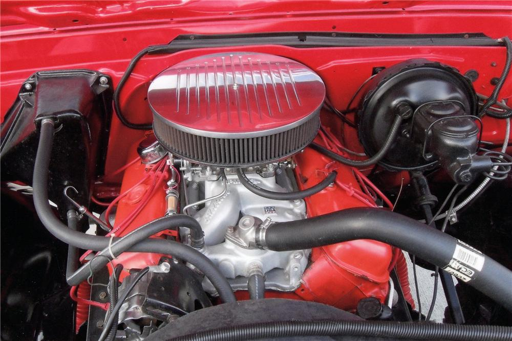 1970 CHEVROLET K10 CUSTOM PICKUP - Engine - 125248