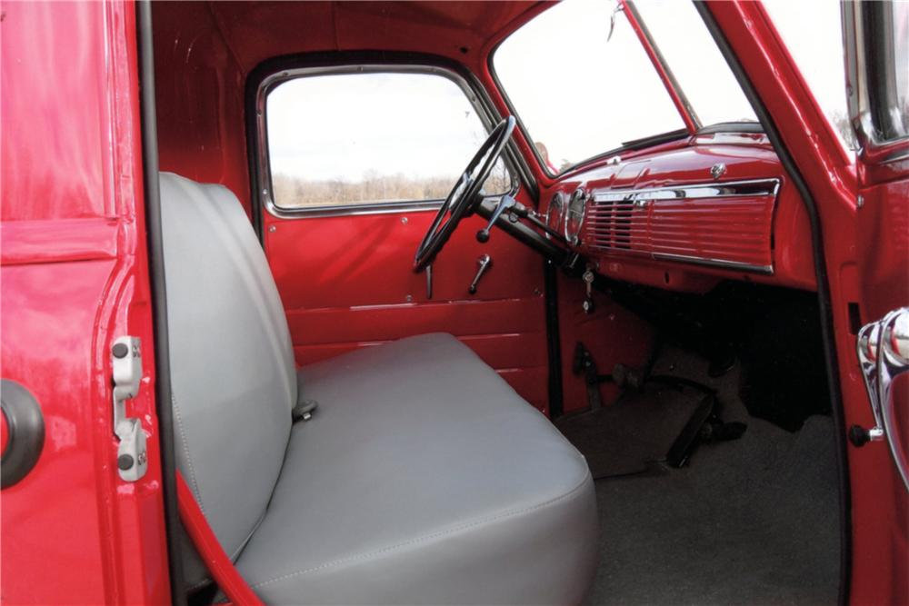 1950 CHEVROLET SHORT BED PICKUP - Interior - 125249