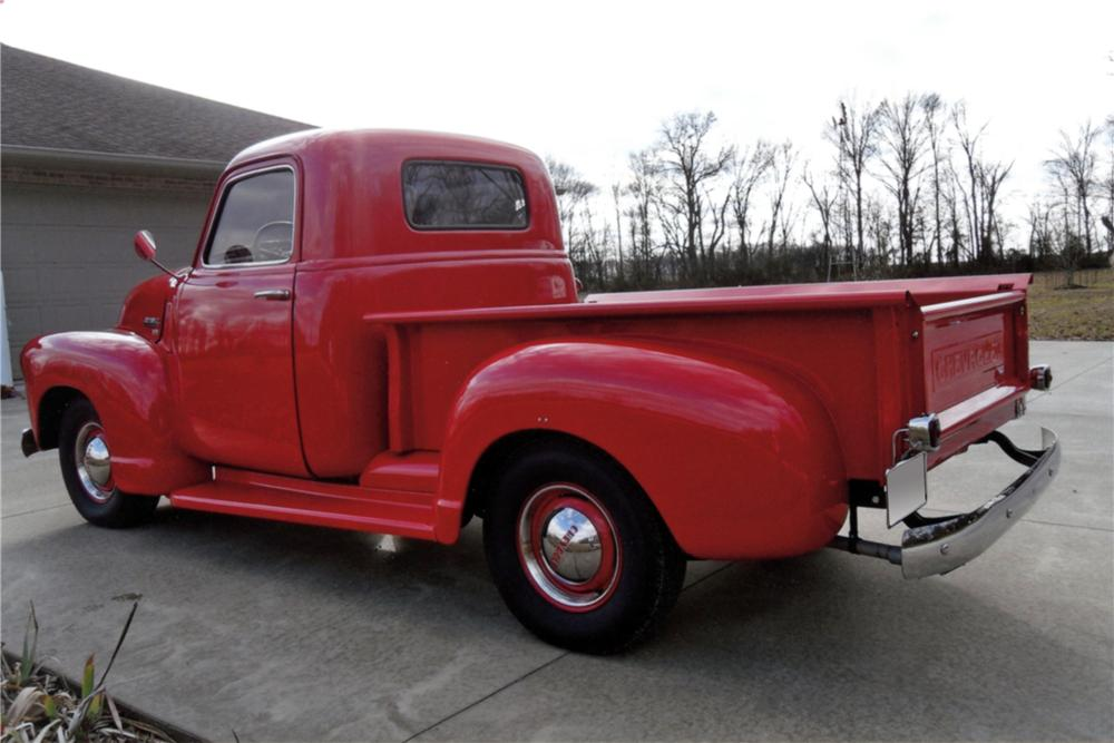 1950 CHEVROLET SHORT BED PICKUP - Rear 3/4 - 125249