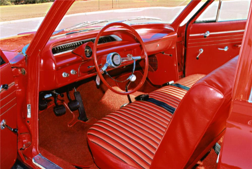 1964 CHEVROLET BISCAYNE 2 DOOR SEDAN - Interior - 125250