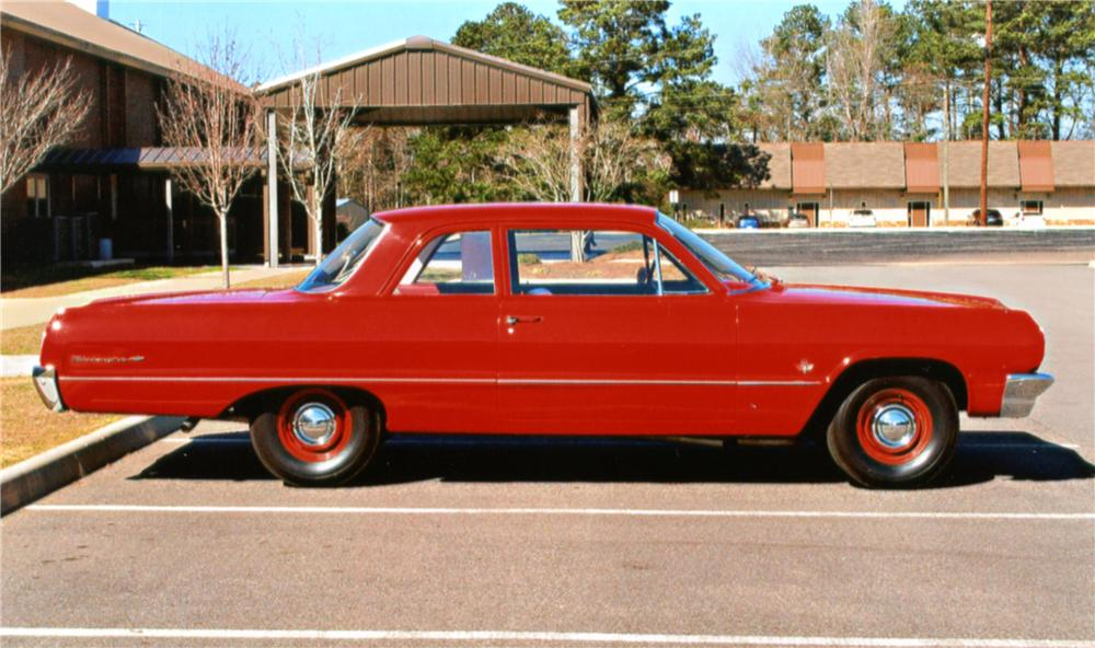 1964 Chevrolet Biscayne 2 Door Sedan 125250