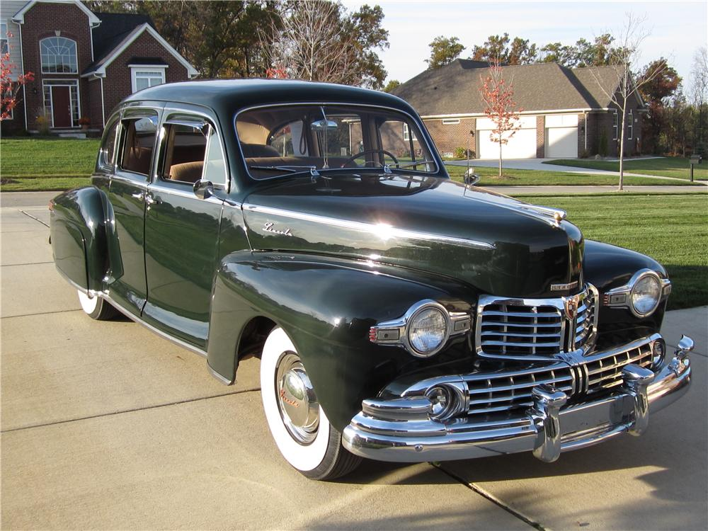 1947 LINCOLN ZEPHYR 4 DOOR SEDAN - Front 3/4 - 125263