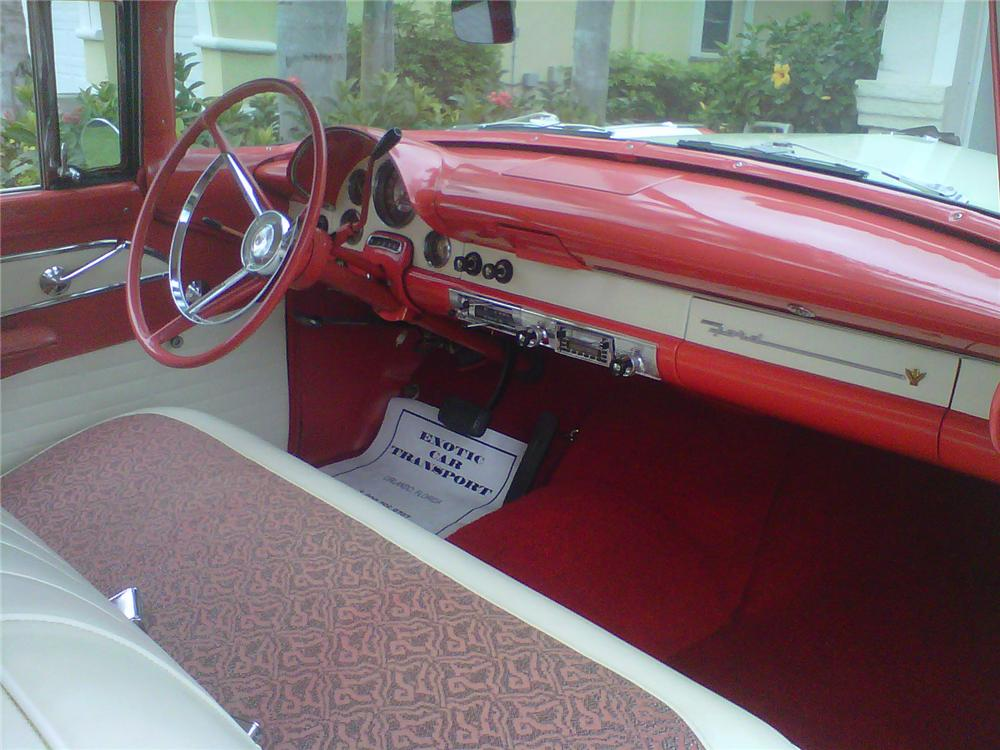 1956 FORD VICTORIA 2 DOOR HARDTOP - Interior - 125267