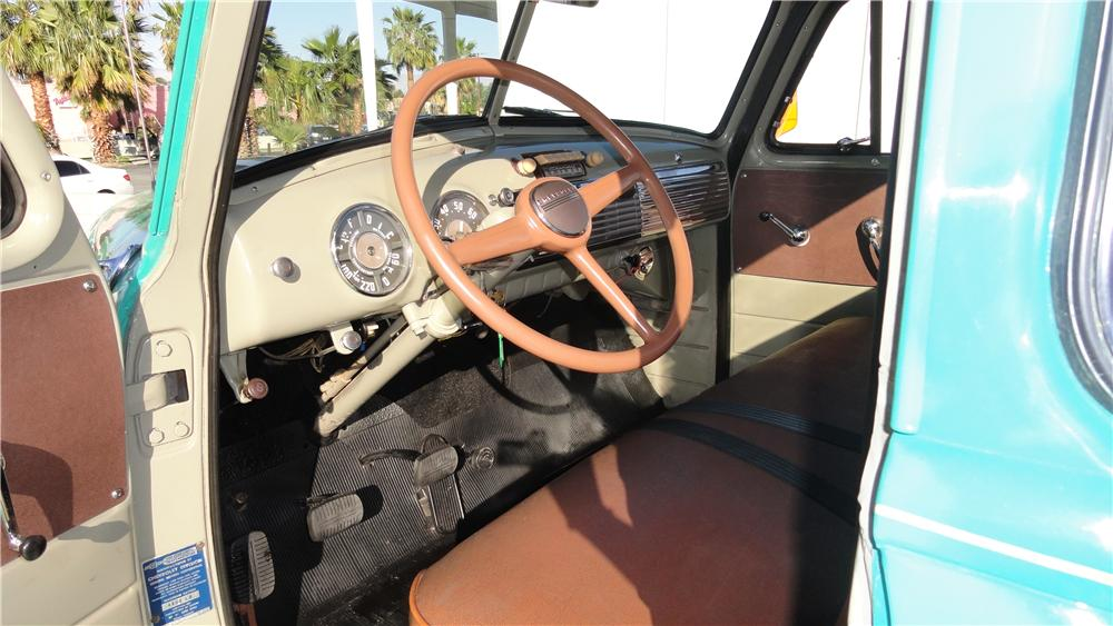 1953 CHEVROLET 3100 PICKUP - Interior - 125268
