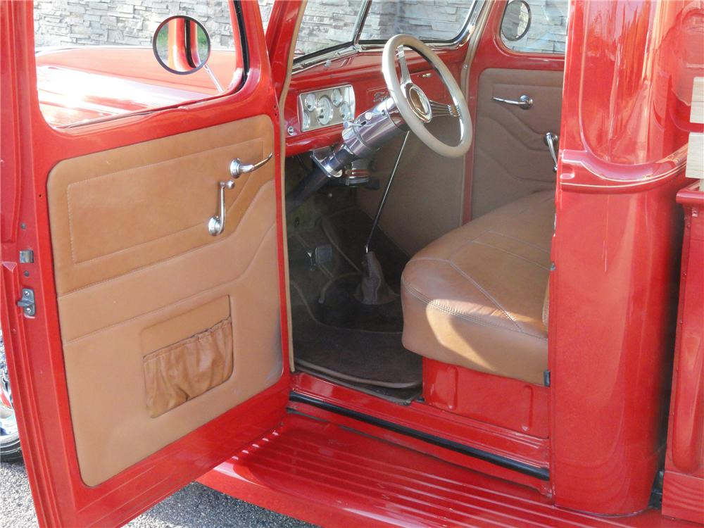 1940 FORD CUSTOM PICKUP - Interior - 125269