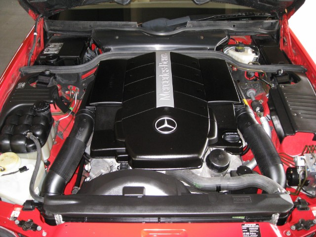 2001 MERCEDES-BENZ SL500 CONVERTIBLE - Engine - 125272