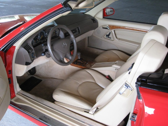 2001 MERCEDES-BENZ SL500 CONVERTIBLE - Interior - 125272