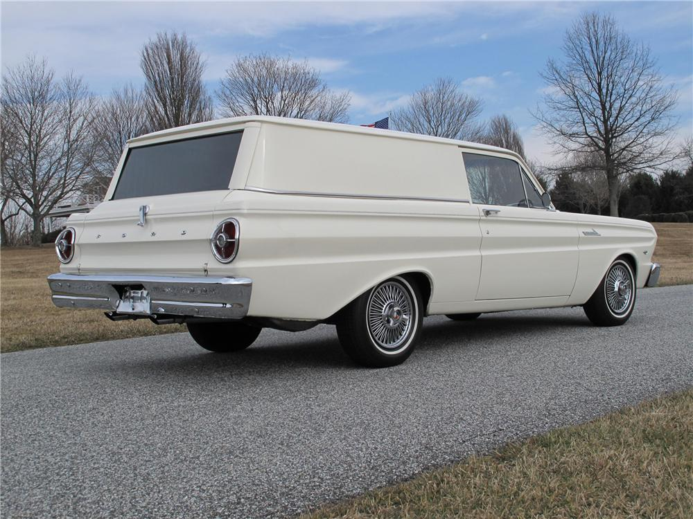 1965 ford falcon custom panel wagon 125281. Black Bedroom Furniture Sets. Home Design Ideas