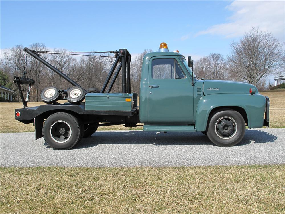 1953 FORD F-350 TOW TRUCK - Side Profile - 125282