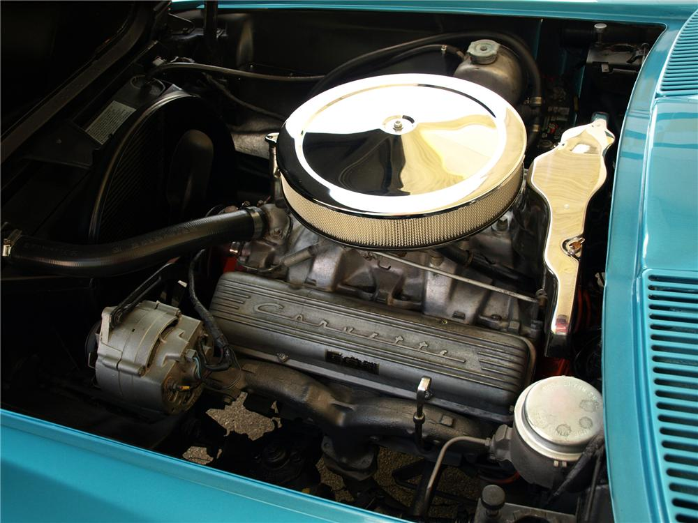 1965 CHEVROLET CORVETTE CONVERTIBLE - Engine - 125285