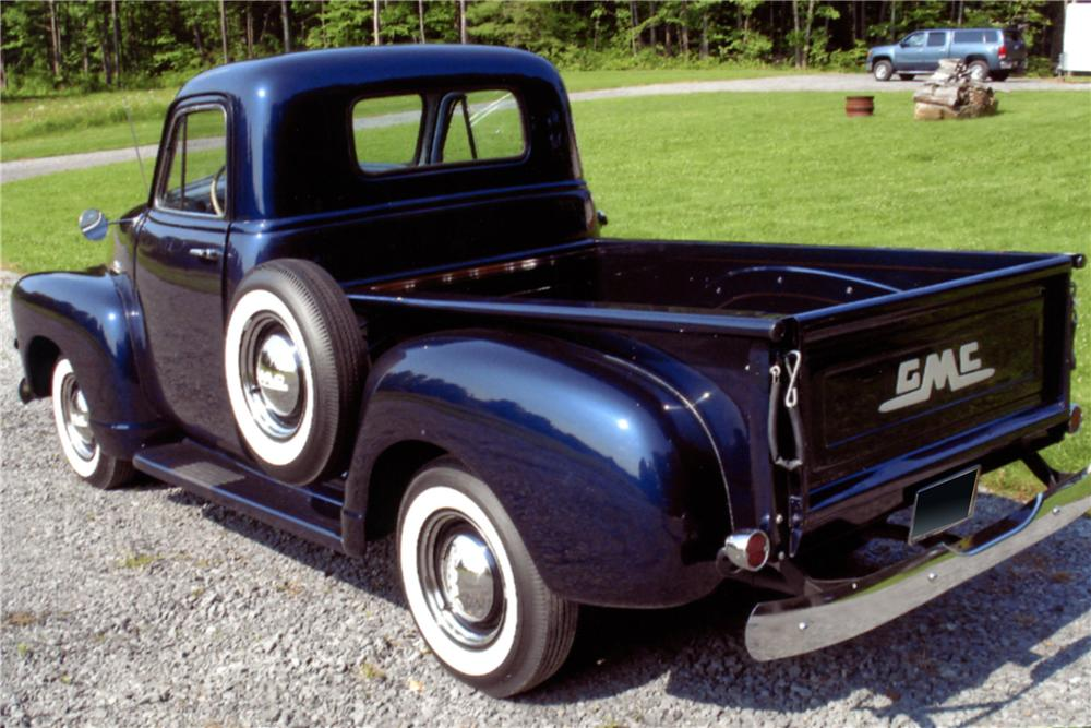 1954 GMC PICKUP - Rear 3/4 - 125287
