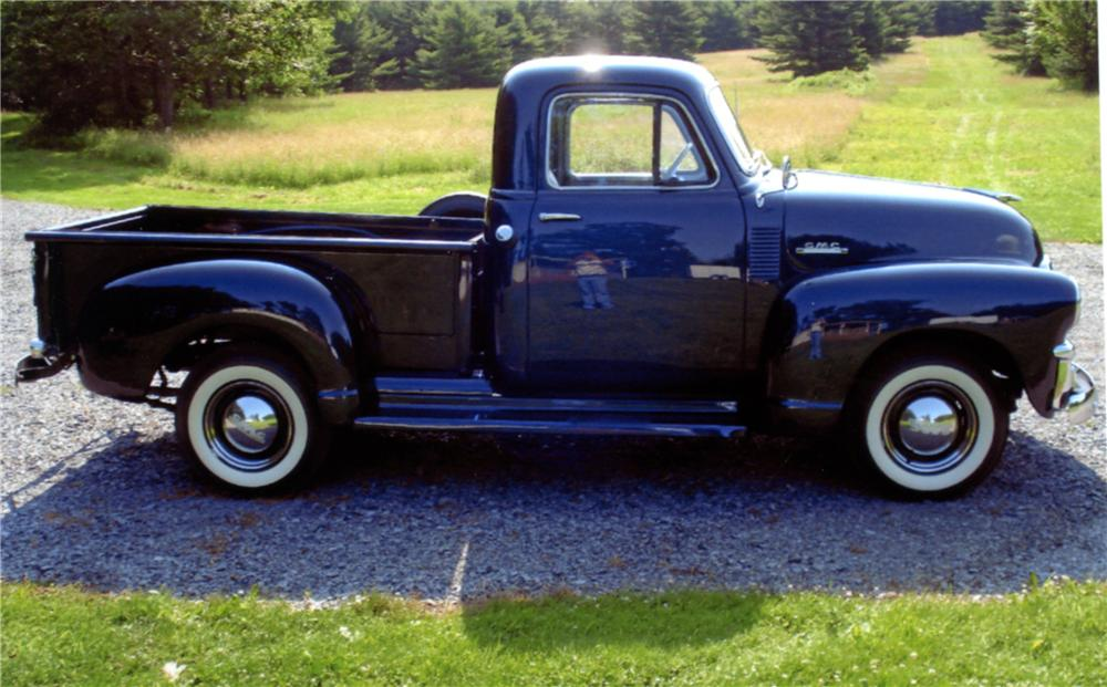 1954 GMC PICKUP - Side Profile - 125287