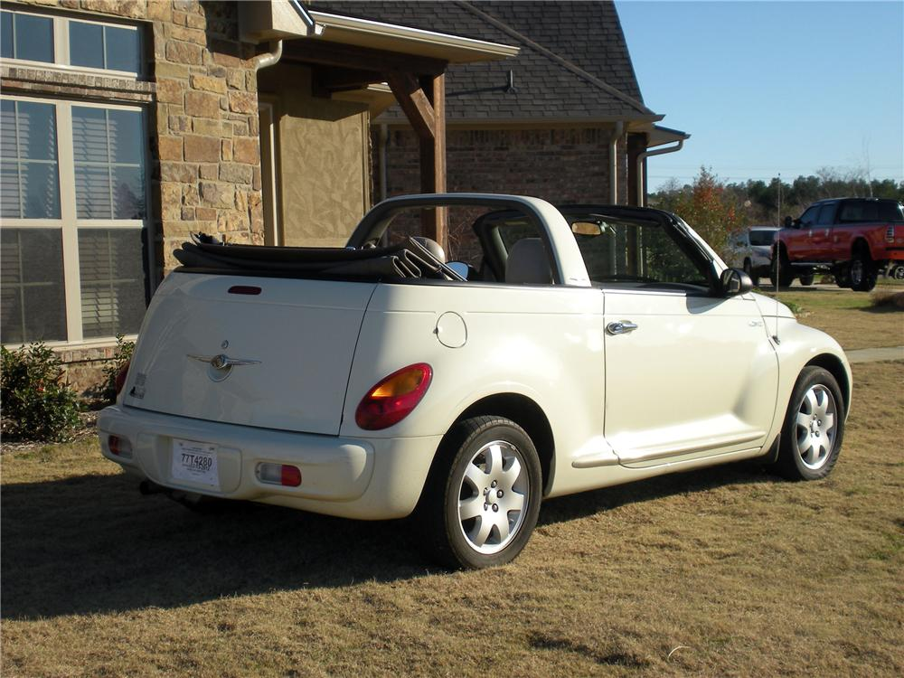 2005 chrysler pt cruiser convertible 125294. Black Bedroom Furniture Sets. Home Design Ideas