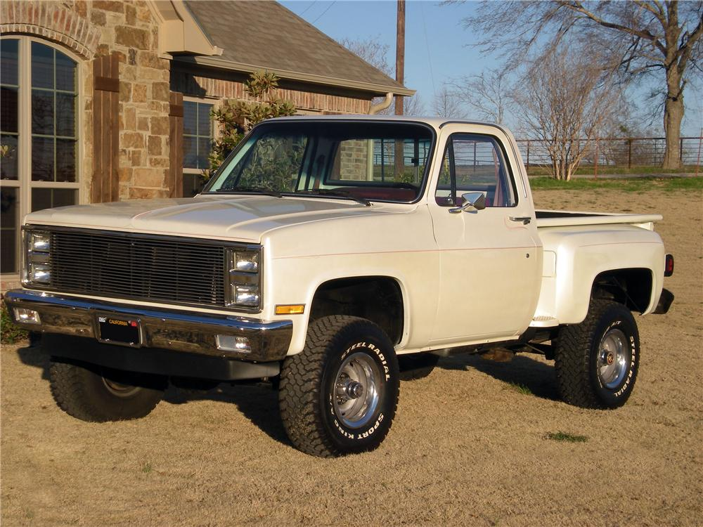 1985 chevy stepside 4x4 trucks for autos post. Black Bedroom Furniture Sets. Home Design Ideas