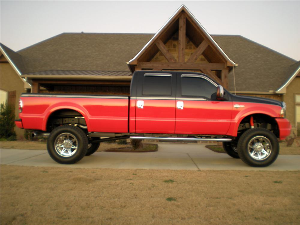 2004 FORD F-250 HARLEY-DAVIDSON 4X4 - Side Profile - 125301