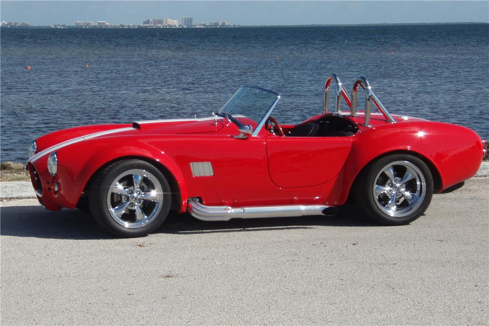 2008 FACTORY FIVE COBRA RE-CREATION ROADSTER - Front 3/4 - 125309
