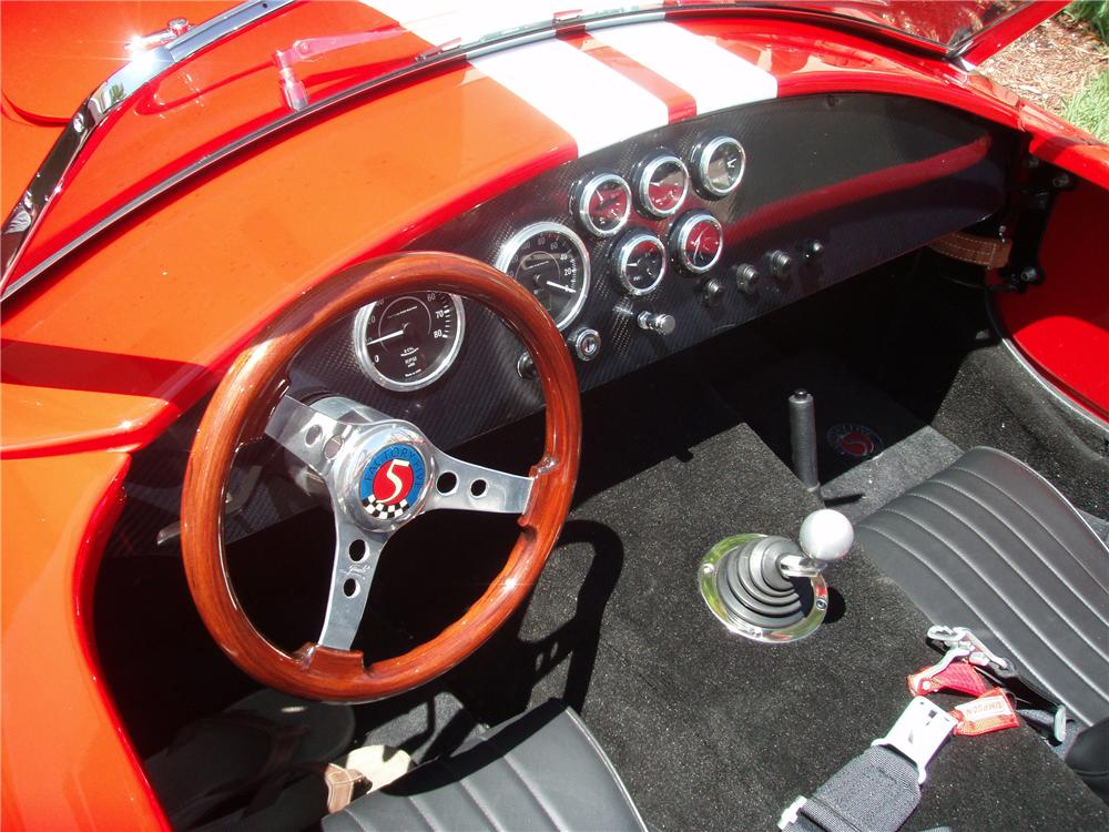 2008 FACTORY FIVE COBRA RE-CREATION ROADSTER - Interior - 125309