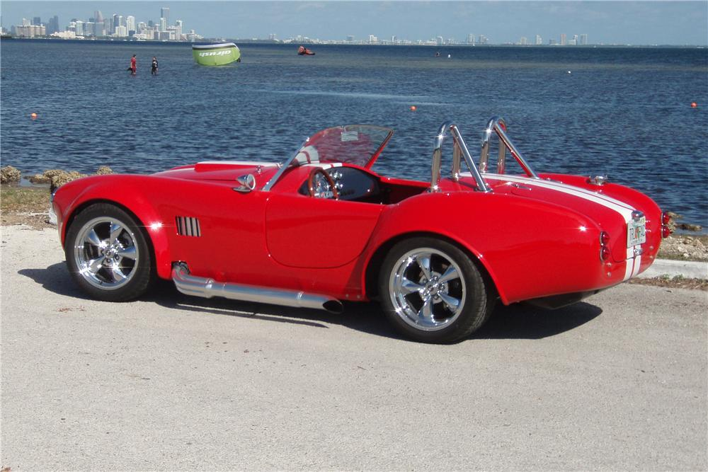 2008 FACTORY FIVE COBRA RE-CREATION ROADSTER - Rear 3/4 - 125309