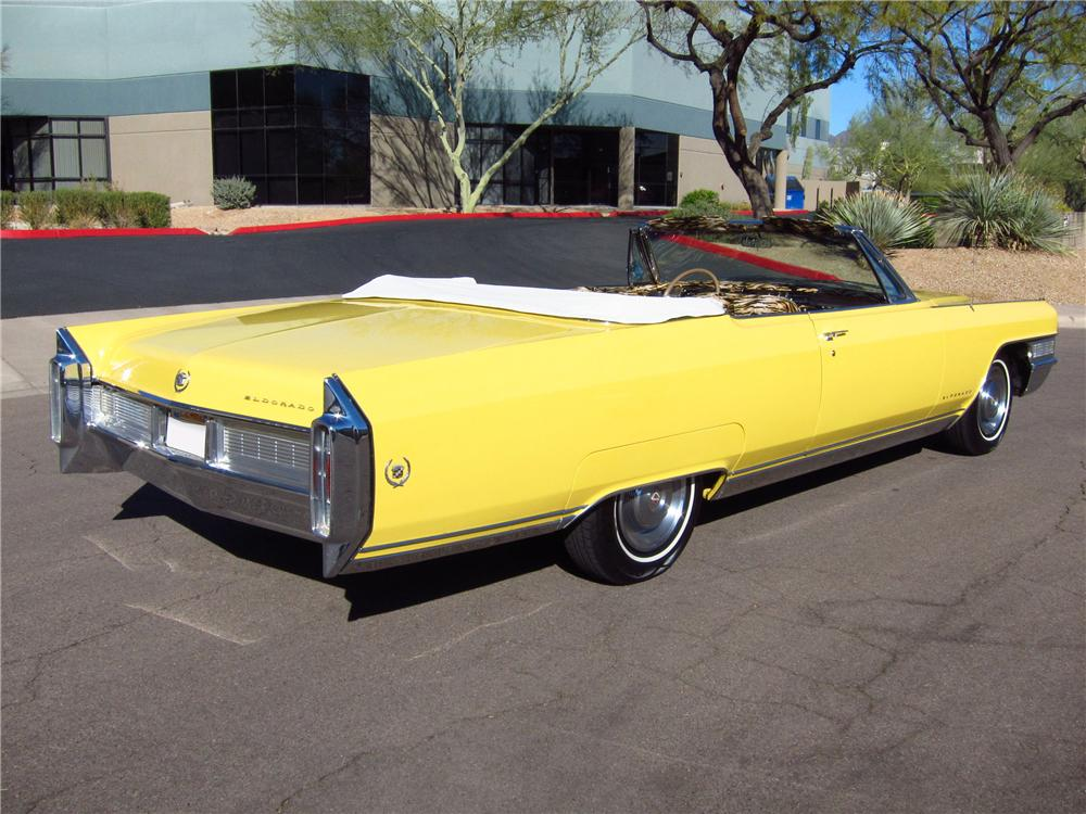 1965 CADILLAC ELDORADO CUSTOM CONVERTIBLE - Rear 3/4 - 125312