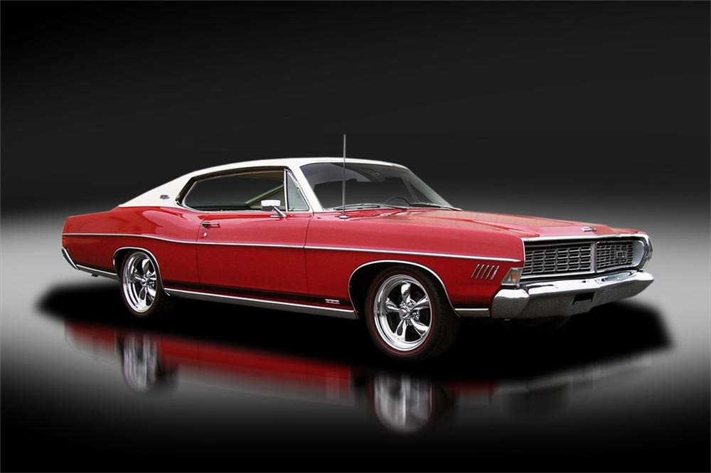 1968 FORD GALAXIE XL FASTBACK - Front 3/4 - 125313