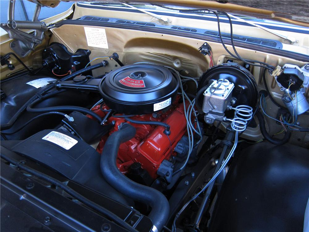 1975 CHEVROLET BLAZER CUSTOM SUV - Engine - 125314
