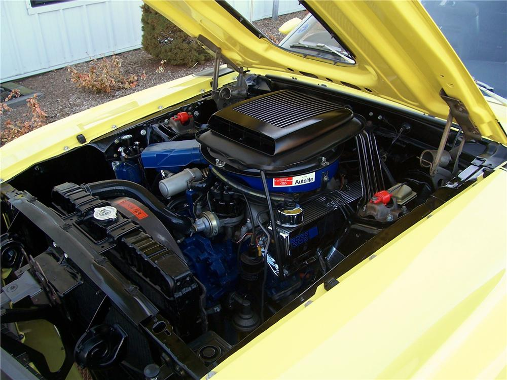1970 FORD MUSTANG BOSS 302 FASTBACK - Engine - 125322