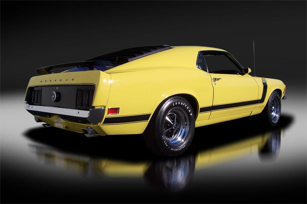 1970 FORD MUSTANG BOSS 302 FASTBACK - Rear 3/4 - 125322