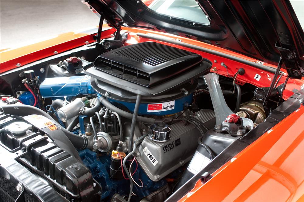 1970 FORD MUSTANG BOSS 302 FASTBACK - Engine - 125326