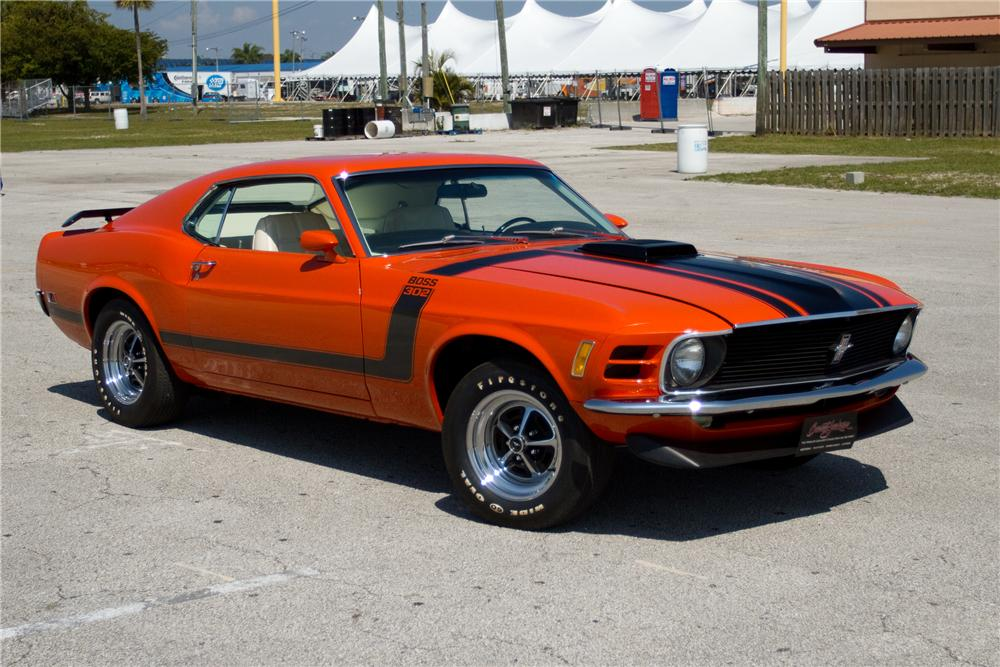 1970 FORD MUSTANG BOSS 302 FASTBACK - Front 3/4 - 125326