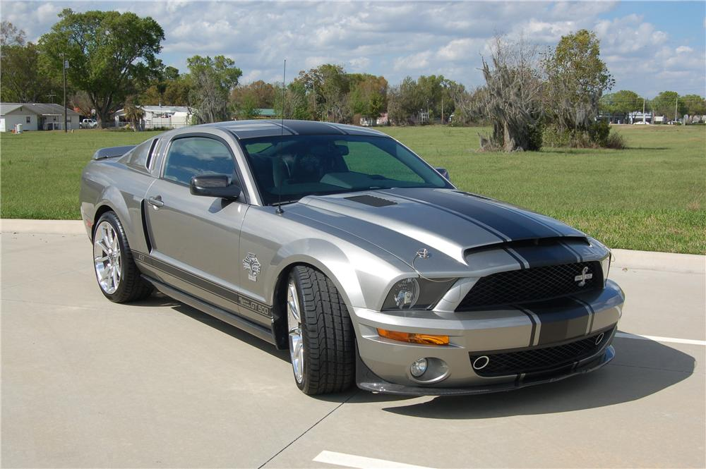 2008 ford shelby gt500 super snake coupe 125332. Black Bedroom Furniture Sets. Home Design Ideas