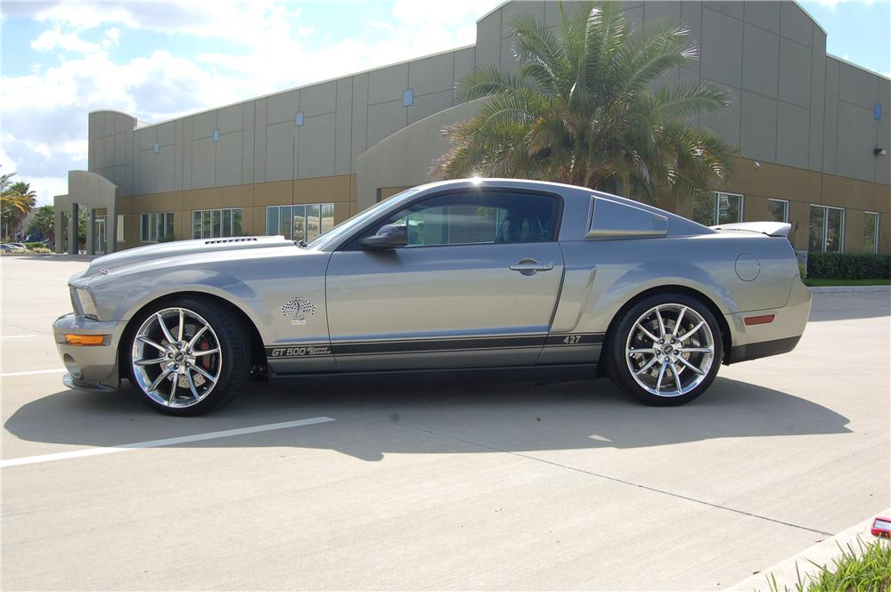 2008 FORD SHELBY GT500 SUPER SNAKE COUPE - Side Profile - 125332