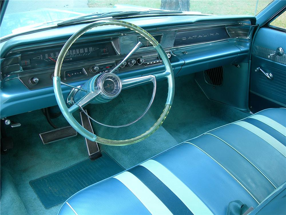 1963 PONTIAC CATALINA CONVERTIBLE - Interior - 125336