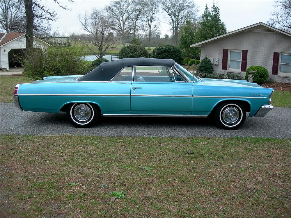 1963 PONTIAC CATALINA CONVERTIBLE - Side Profile - 125336