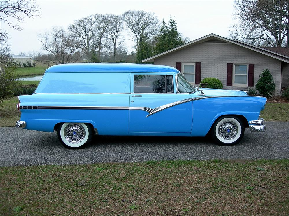 1956 FORD SEDAN DELIVERY CUSTOM - Side Profile - 125339