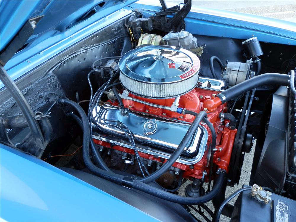 1966 CHEVROLET CHEVELLE CUSTOM CONVERTIBLE - Engine - 125347
