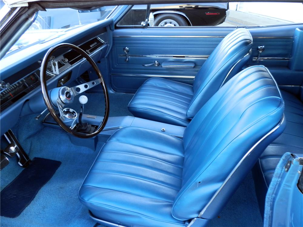 1966 CHEVROLET CHEVELLE CUSTOM CONVERTIBLE - Interior - 125347