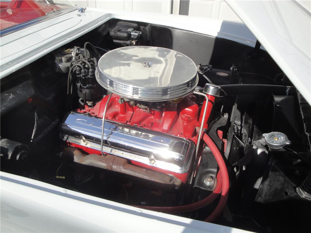 1955 CHEVROLET CORVETTE CONVERTIBLE - Engine - 125349