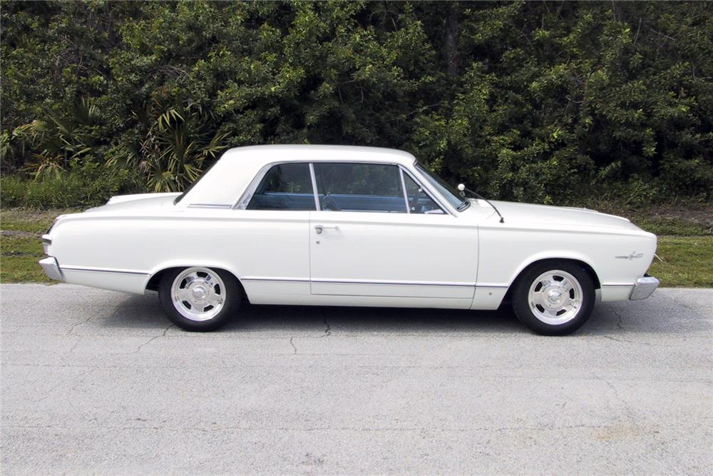 1966 PLYMOUTH VALIANT CUSTOM 2 DOOR HARDTOP - Side Profile - 125350
