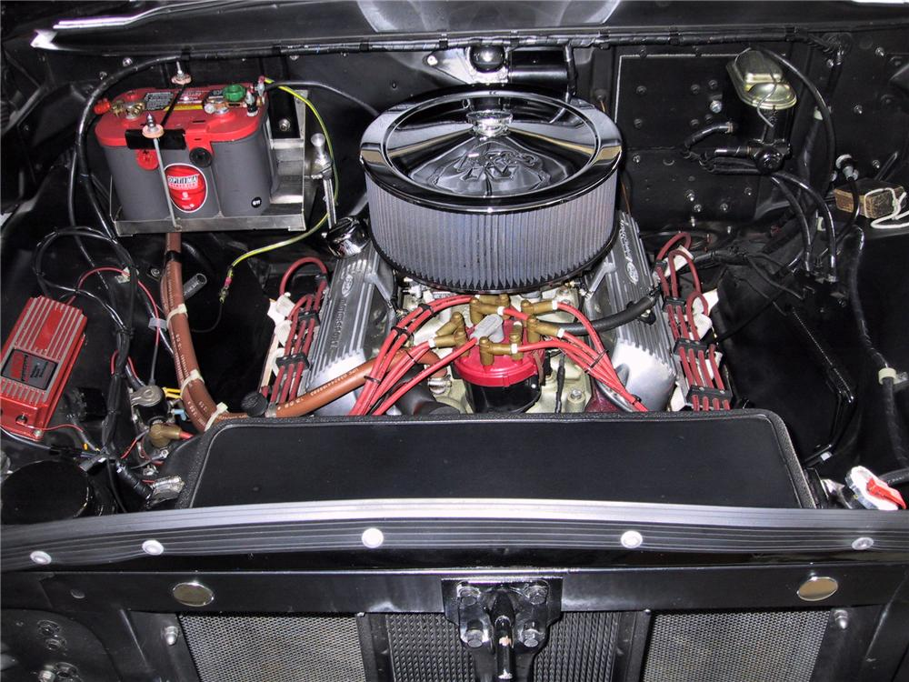 1957 FORD F-100 CUSTOM PICKUP - Engine - 125351