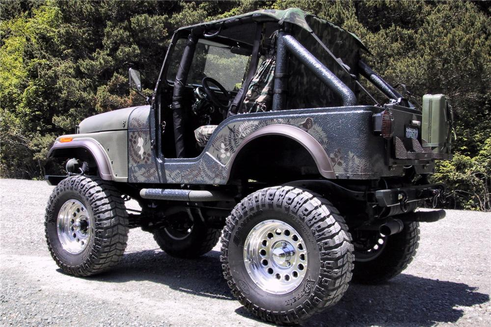 1976 JEEP CJ-5 CUSTOM - Rear 3/4 - 125352
