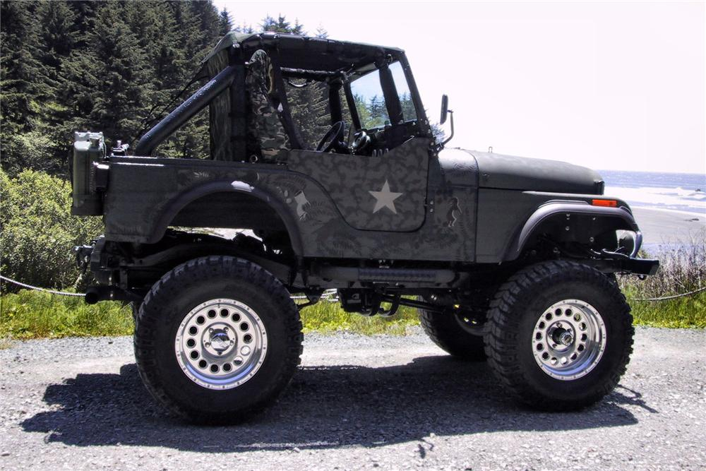 1976 JEEP CJ-5 CUSTOM - Side Profile - 125352