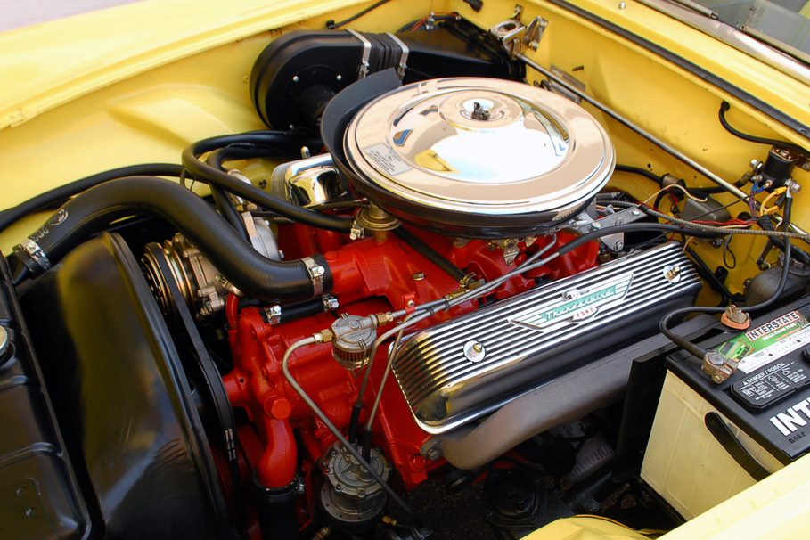 1955 FORD THUNDERBIRD CONVERTIBLE - Engine - 125356