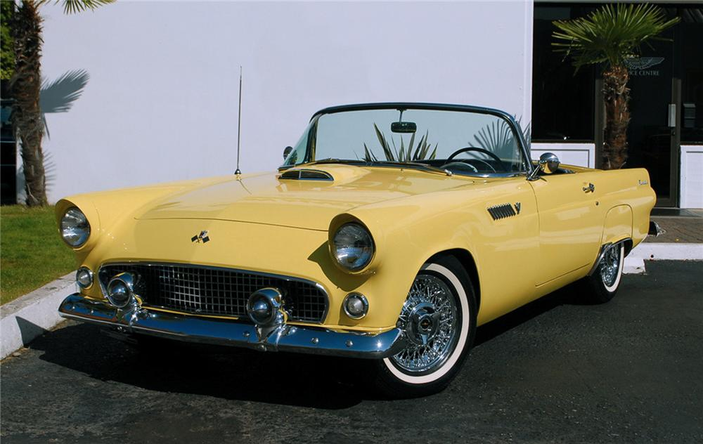 1955 FORD THUNDERBIRD CONVERTIBLE - Front 3/4 - 125356