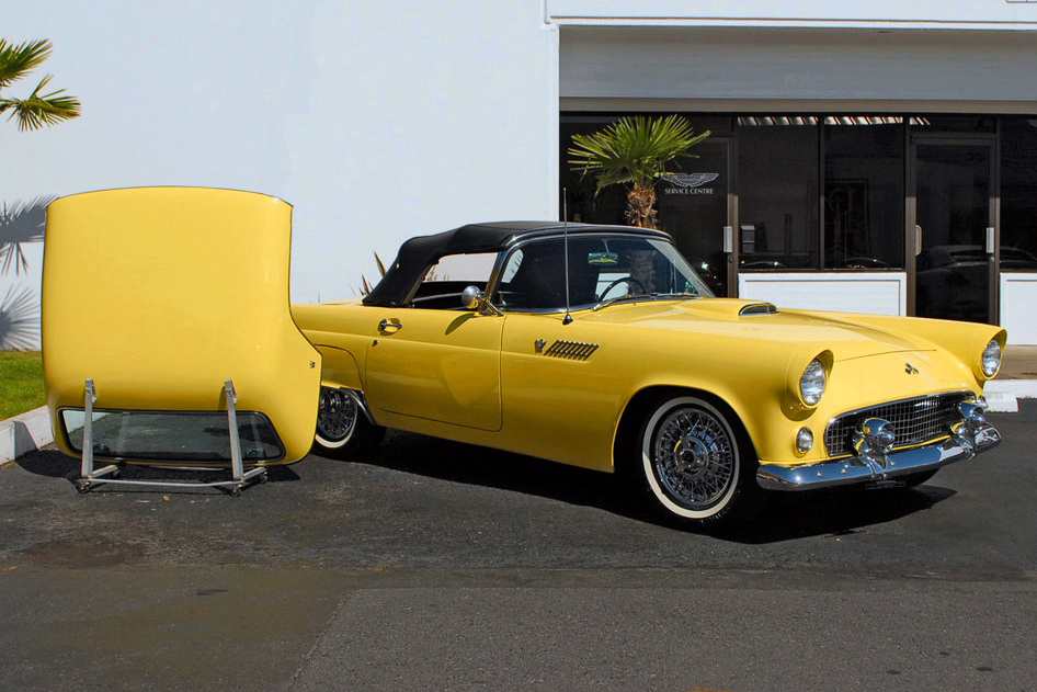 1955 FORD THUNDERBIRD CONVERTIBLE - Side Profile - 125356