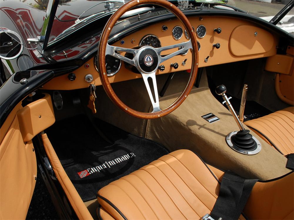 2006 SUPERFORMANCE COBRA RE-CREATION ROADSTER - Interior - 125358